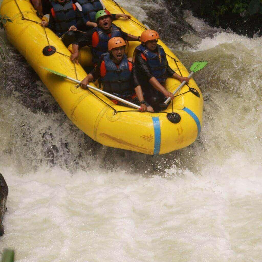 rafting di palayangan
