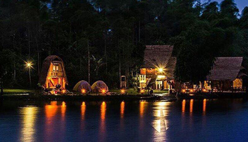 glamping lakeside malam