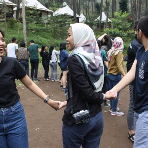 Tempat gathering di bandung utara Cikole jaya giri resort
